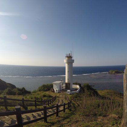 石垣島の平久保灯台