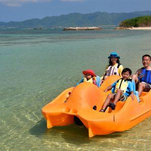 フサキビーチアクティビティ「ペダルボート」