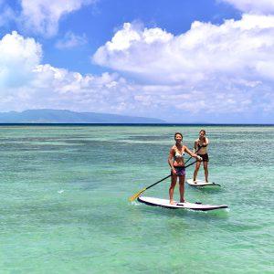 フサキビーチアクティビティSUP体験