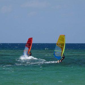 フサキビーチアクティビティ「ウインドサーフィンスクール」