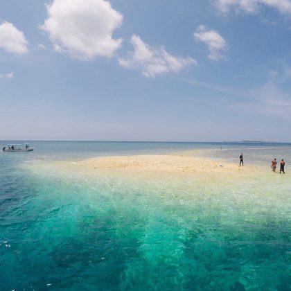 サンゴでできたバラス島