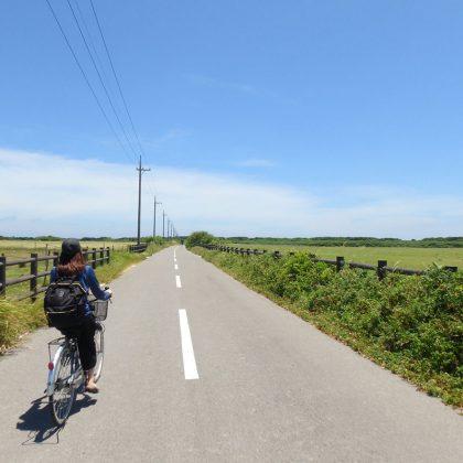 黒島でサイクリング