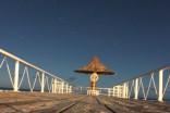真夜中の桟橋