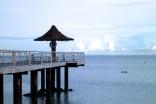 穏やかな桟橋
