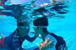 深さは15cm、30cm、60cm。このプールで泳げるようになったお子様も!