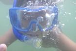 m水中でポーズ
