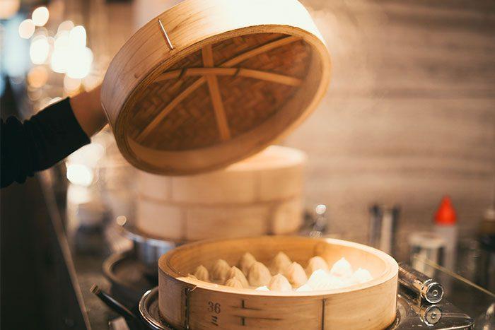 ishigaki-bold-kitchenでの夕食メニュー小籠包