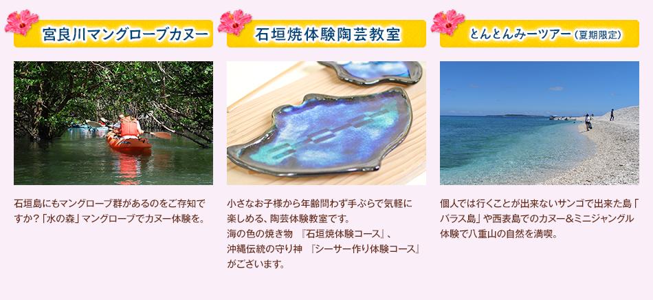 宮良側マングローブカヌー 石垣焼体験陶芸教室 とんとんみーツアー(夏季限定)