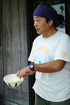 竹富島 泰鍛窯 ご主人
