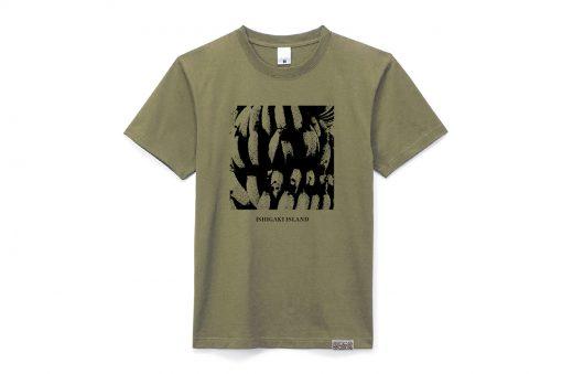 【ホテルオリジナル】イチグスクモードコラボ Tシャツ<カーキ>