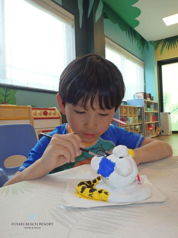 フサキの体験教室「シーサー作り」