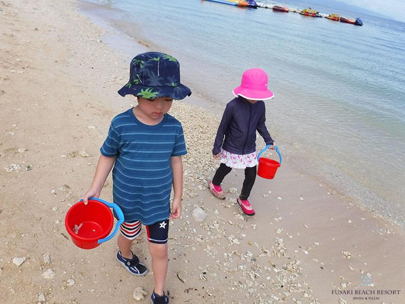 AYAPANIキッズプログラムフサキビーチ探検