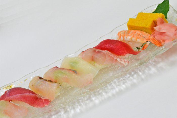 お寿司盛り合わせ(8貫)