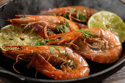 Grilled prawns from Ishigaki Island (4 prawns)